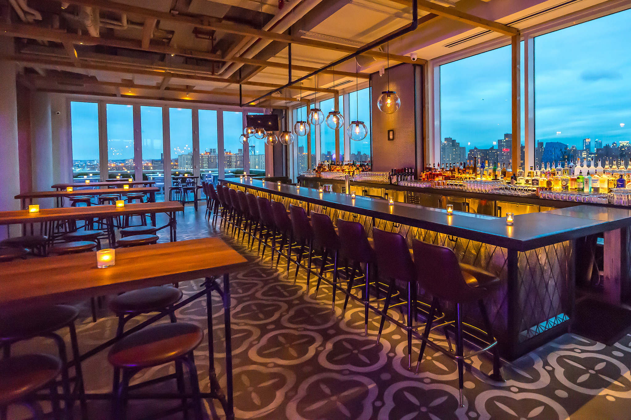 Mr. Purple – fancy rooftop dining nyc