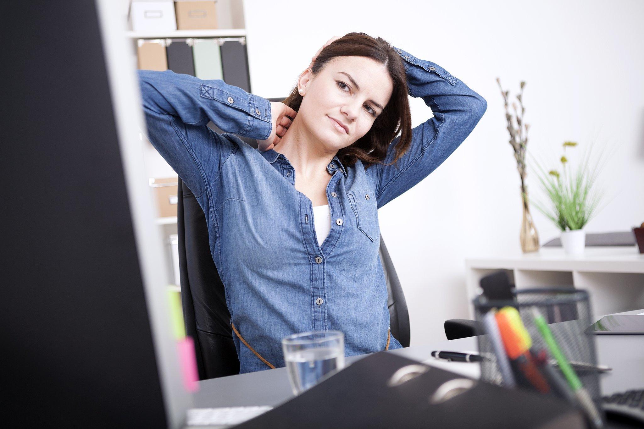 Neck Desk Stretch