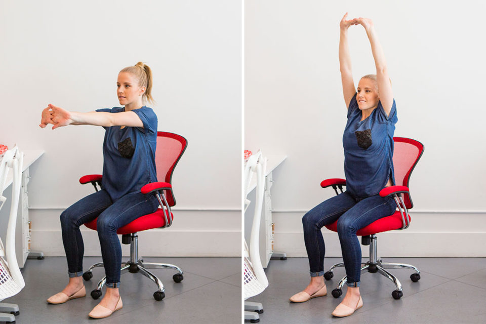 Prevent Fatigue With 12 Office Desk Stretches