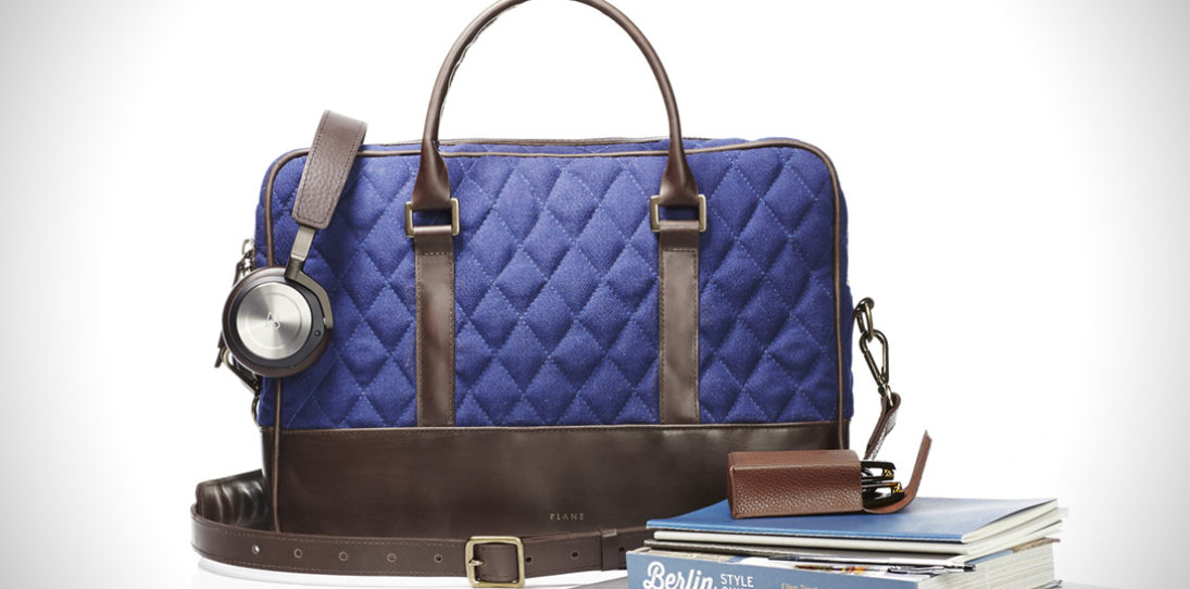 Plane Industries Offers Luxury Travel Pack Made From Airport Carpet