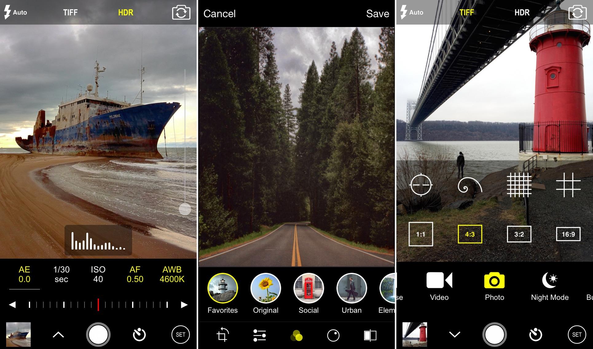 ProCam 3 – iPhone app