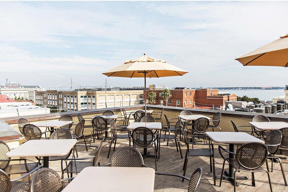 Rooftop at The Vendue – charleston bar