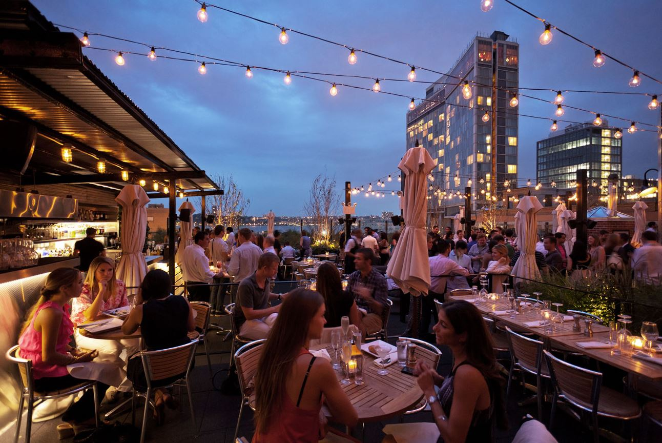 STK Rooftop – fancy dining nyc