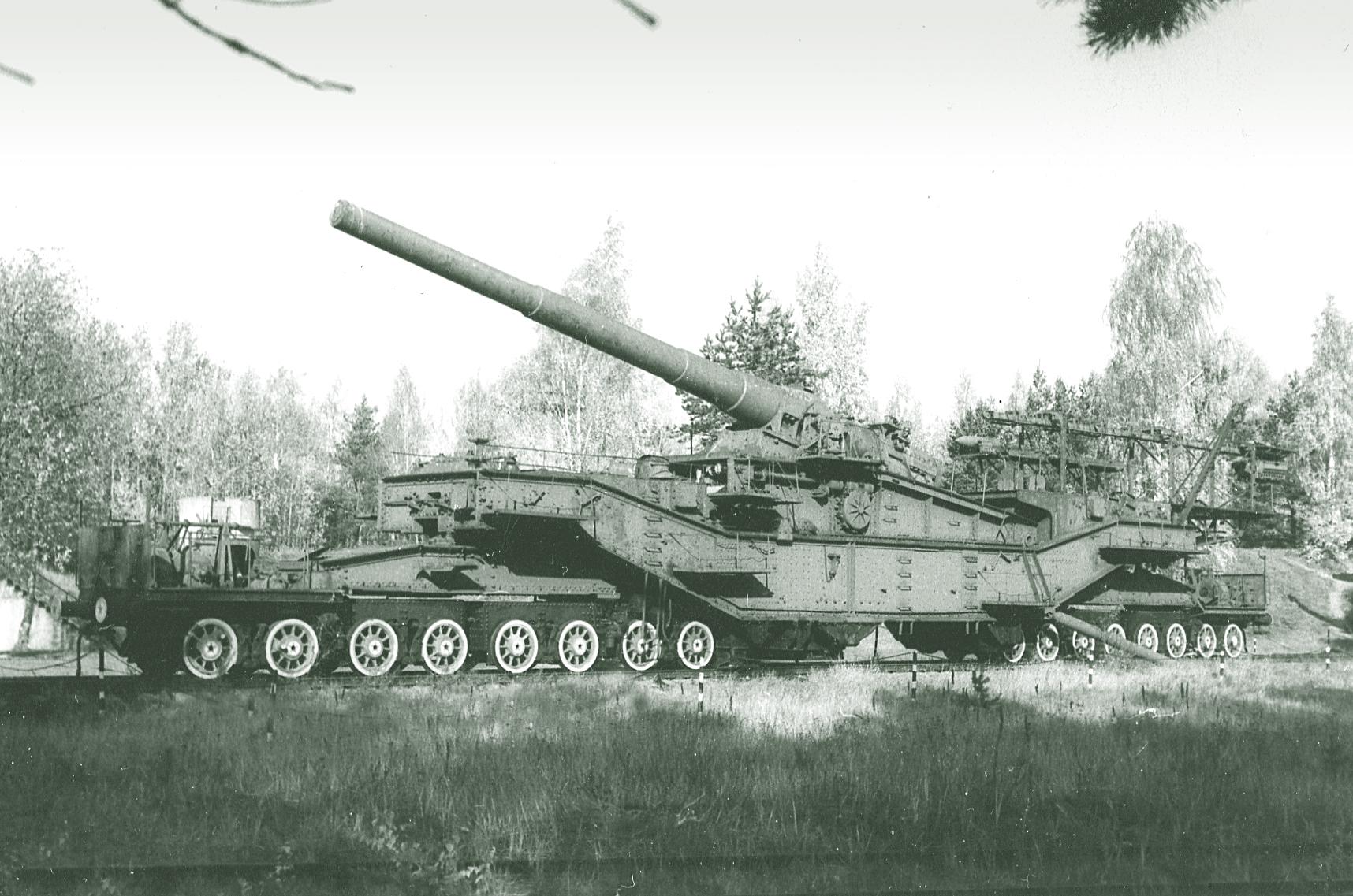 Schwerer Gustav and Dora – weapon of history