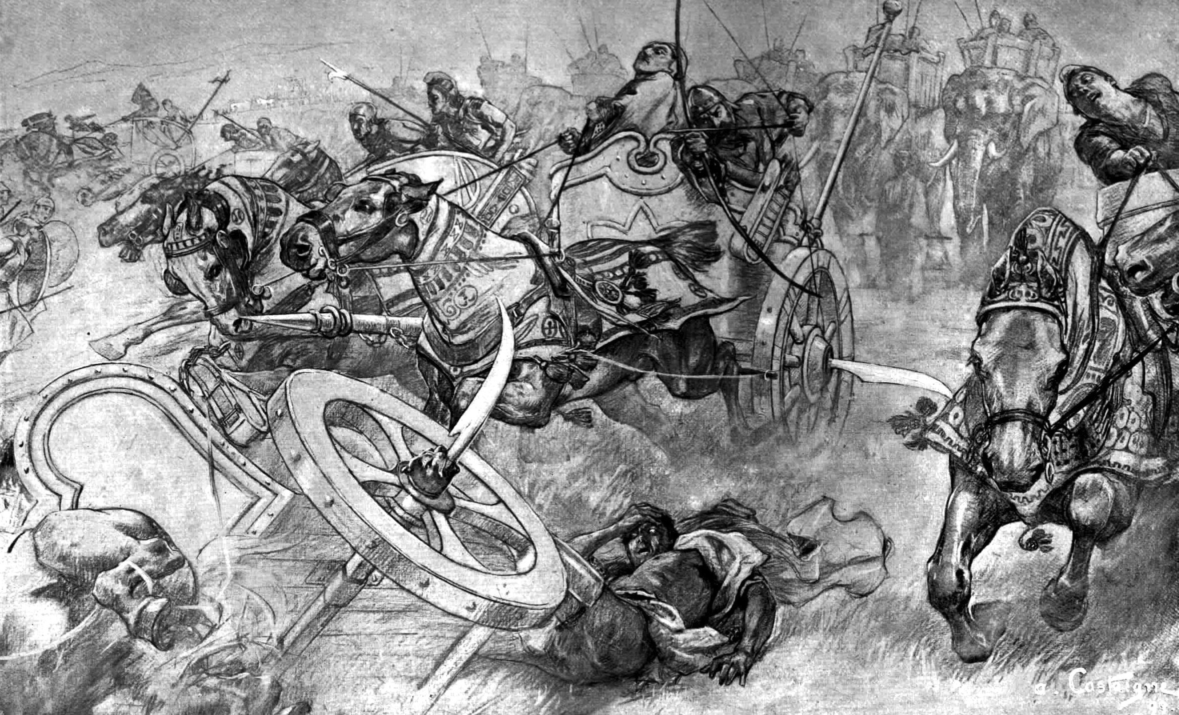 Scythed Chariot – weapon of history