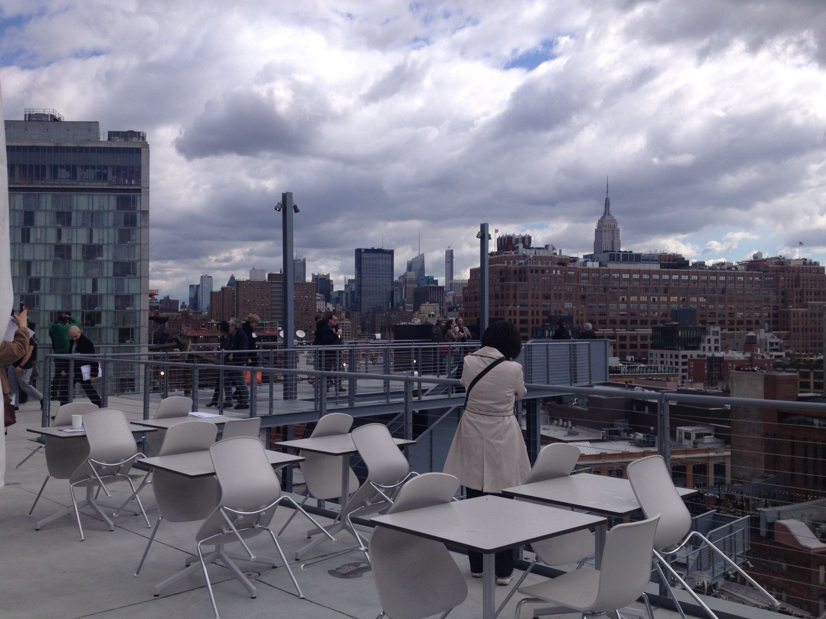 Studio Cafe – fancy rooftop dining nyc