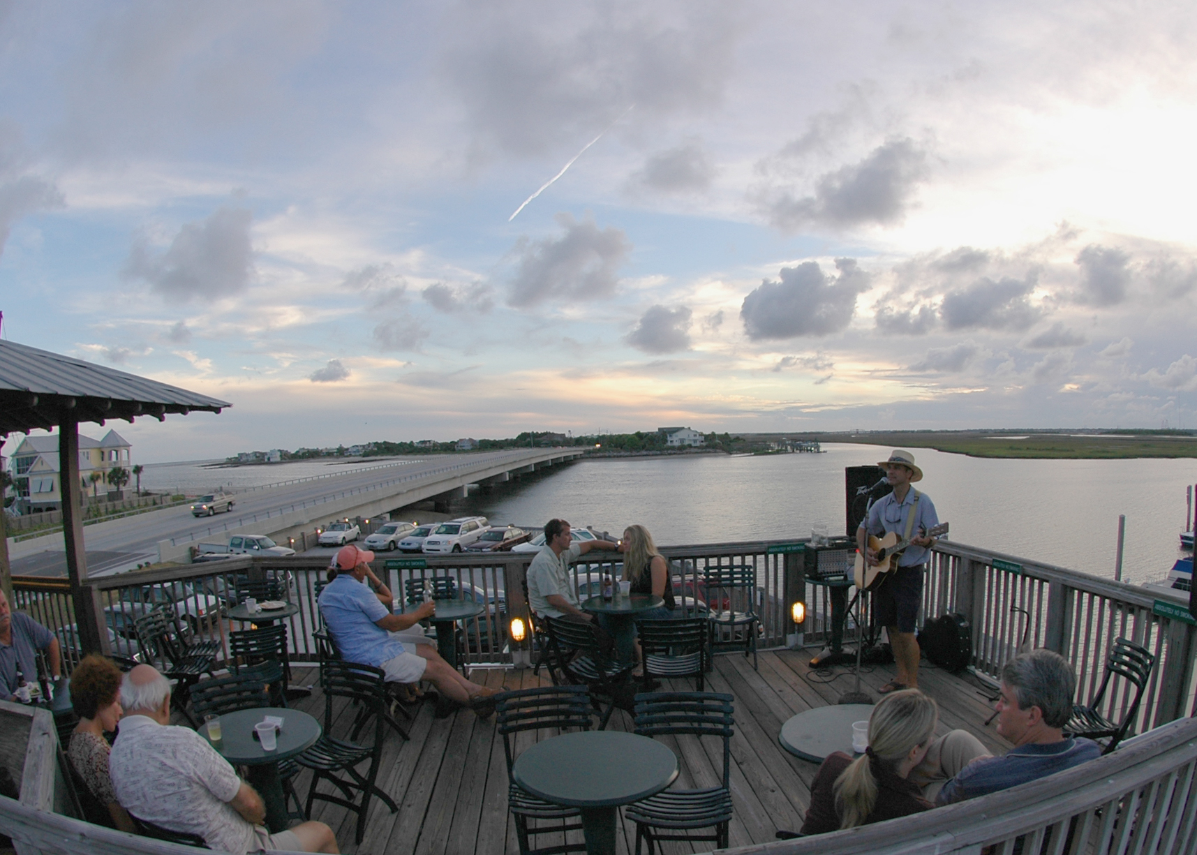 The Boathouse at Breach Inlet – rooftop bar charleston