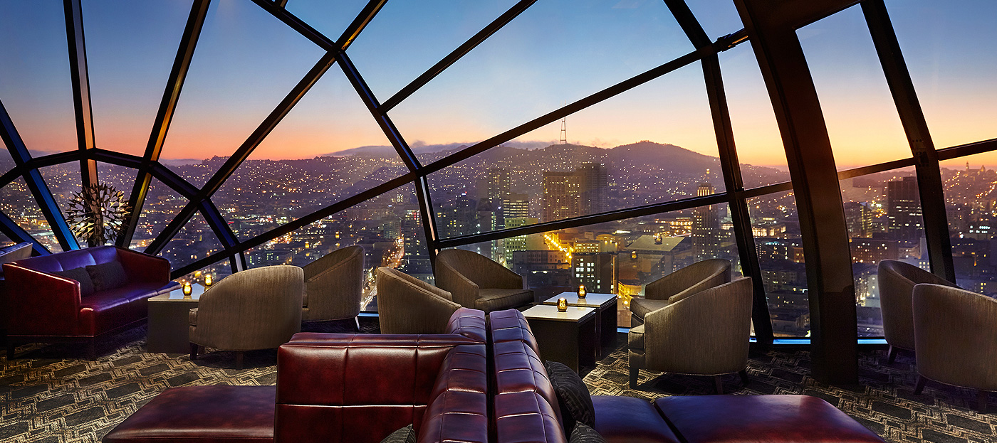 The View Lounge – san francisco rooftop bar