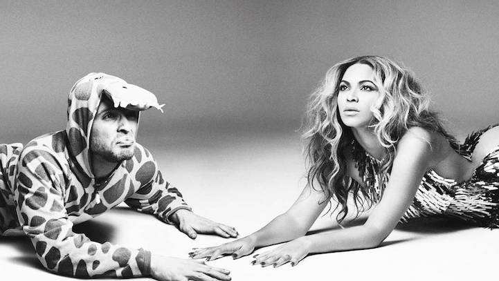 Valentino with Beyonce