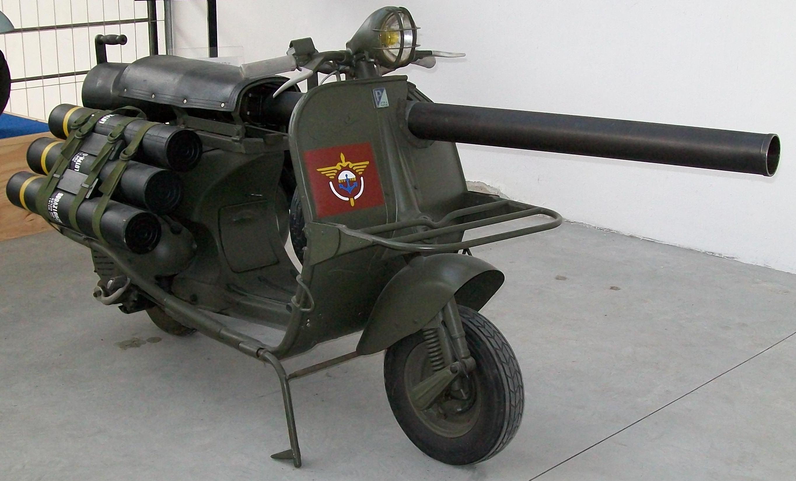 Vespa 150 TAP – weapon of history