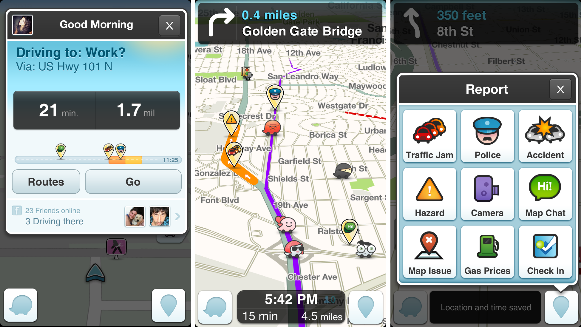 Waze – iPhone app