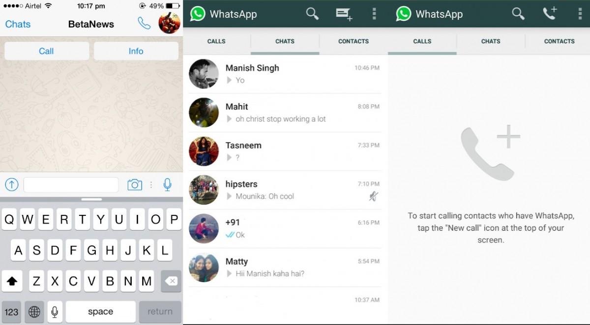 WhatsApp – iPhone app