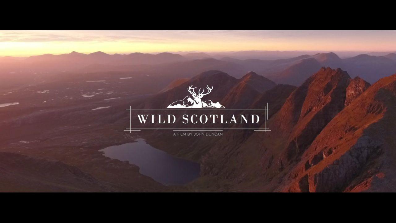 Wild Scotland – drone footage