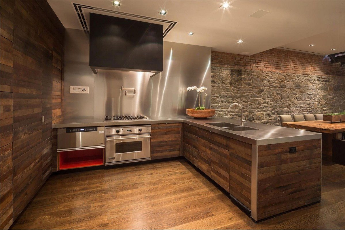 Wood Glass Metal Stone – home decorating tips for men