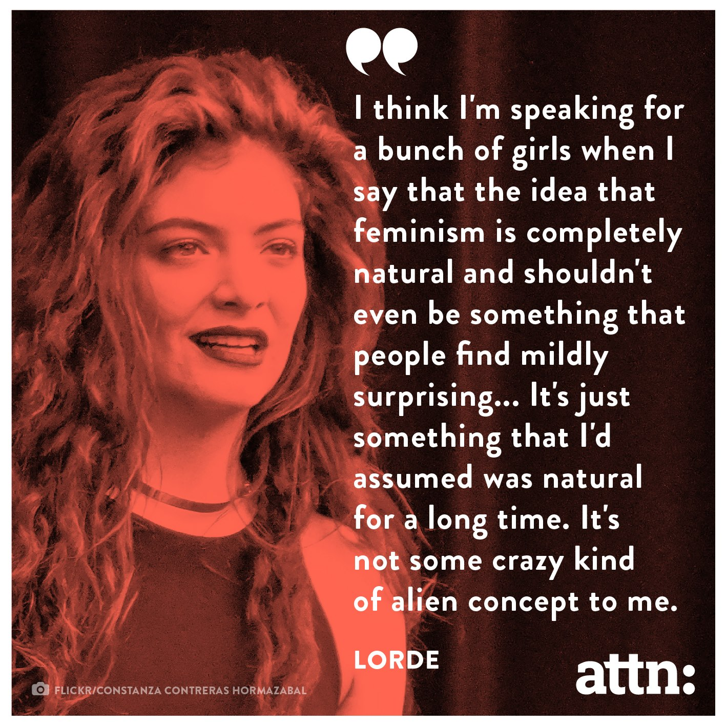 lorde on feminism – life changing meme