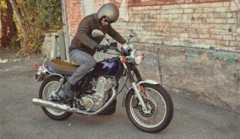 2018 Yamaha SR400 retro motorcycle