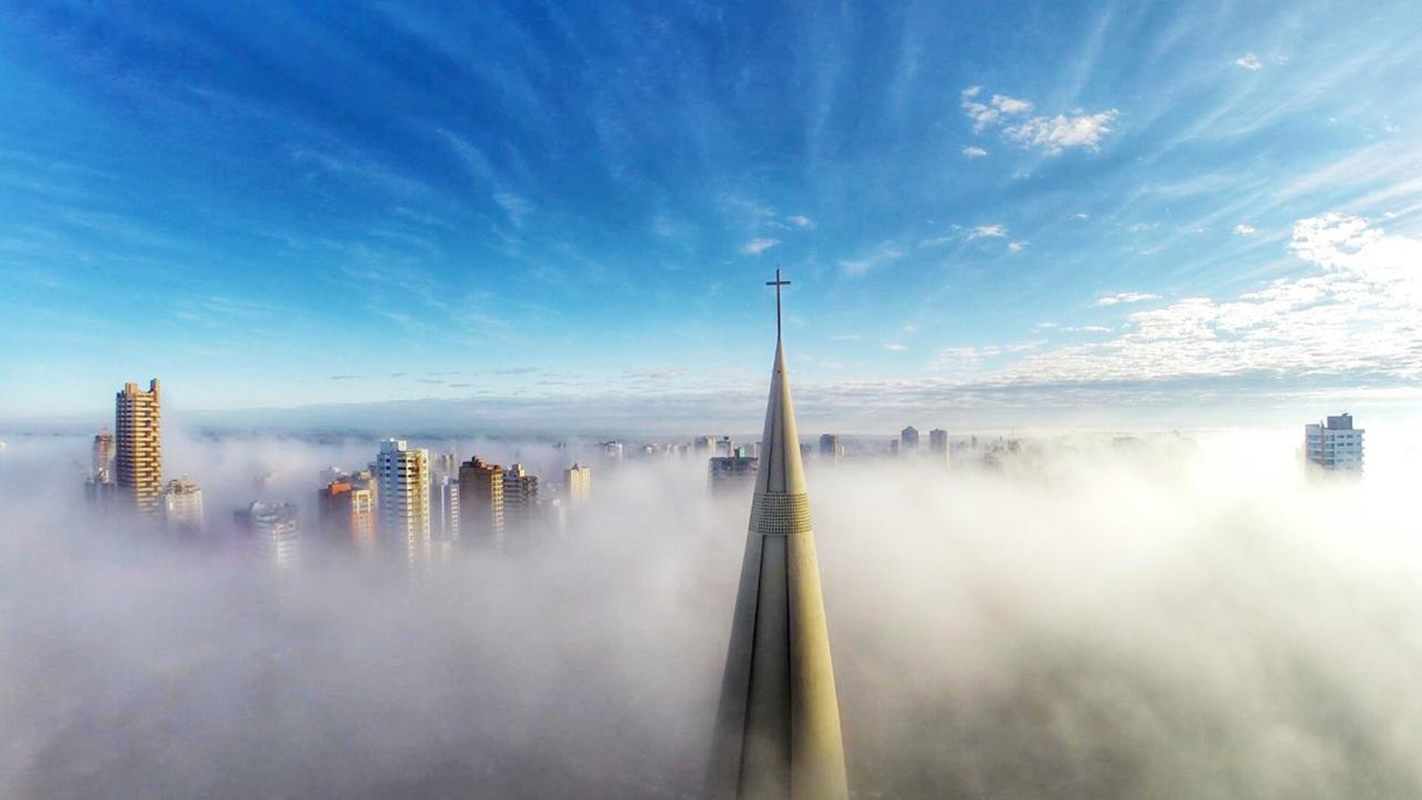 Above the Clouds – drone photo
