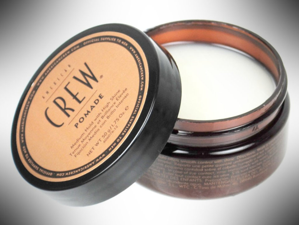 American Crew Pomade - dopp kit essentials