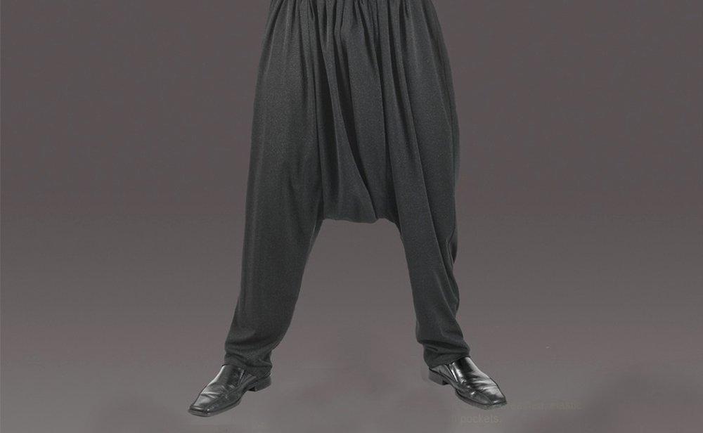 Baggy Pants – summer dress pants for men