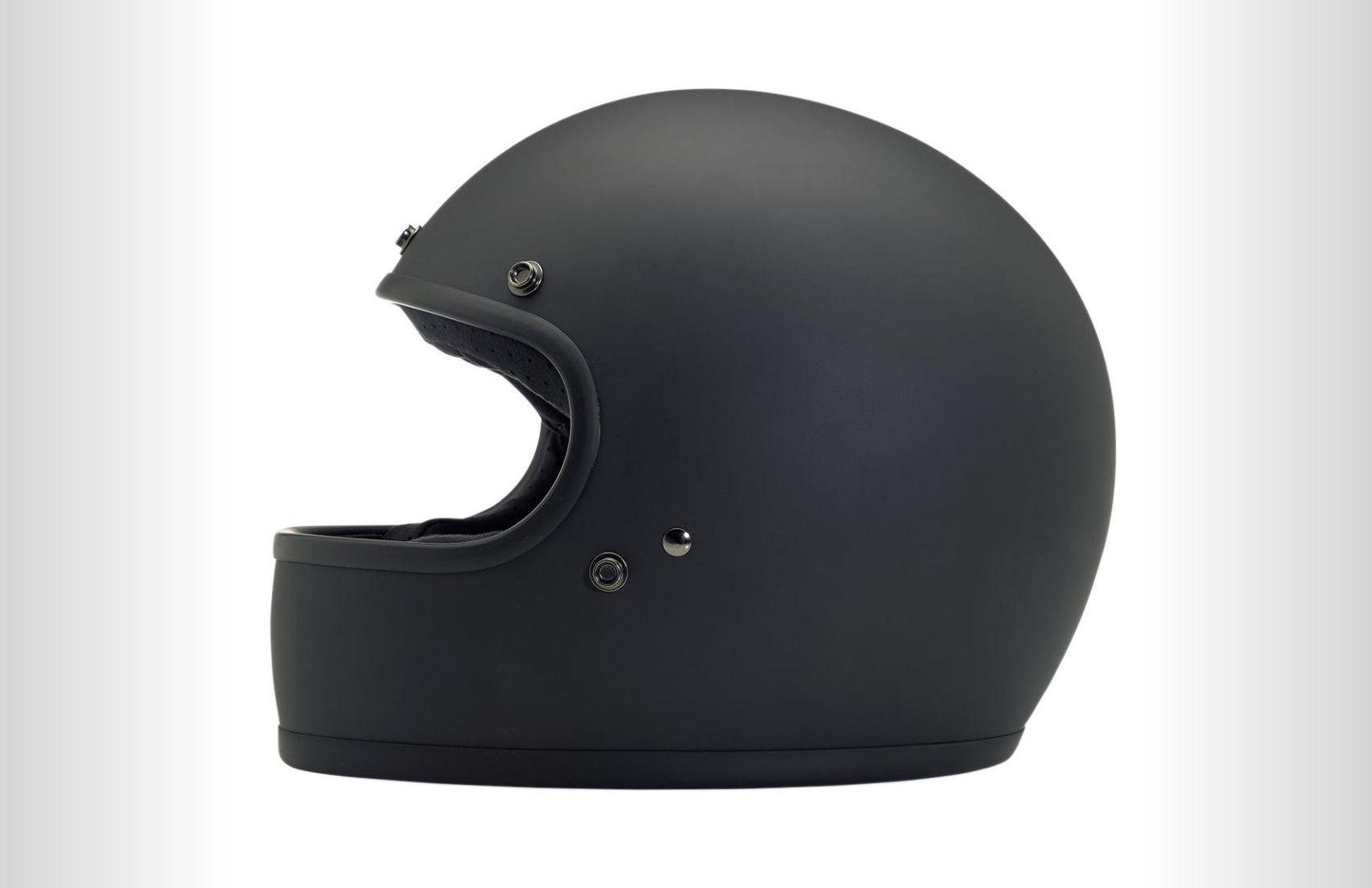 Biltwell Gringo Flat motorcycle helmet