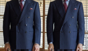 Bottom Button double breasted suit 345x200 How and When to Wear a Double Breasted Suit: 16 Rules
