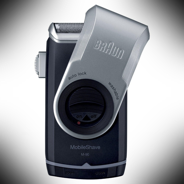 Braun M90 Travel Razor – dopp kit essentials