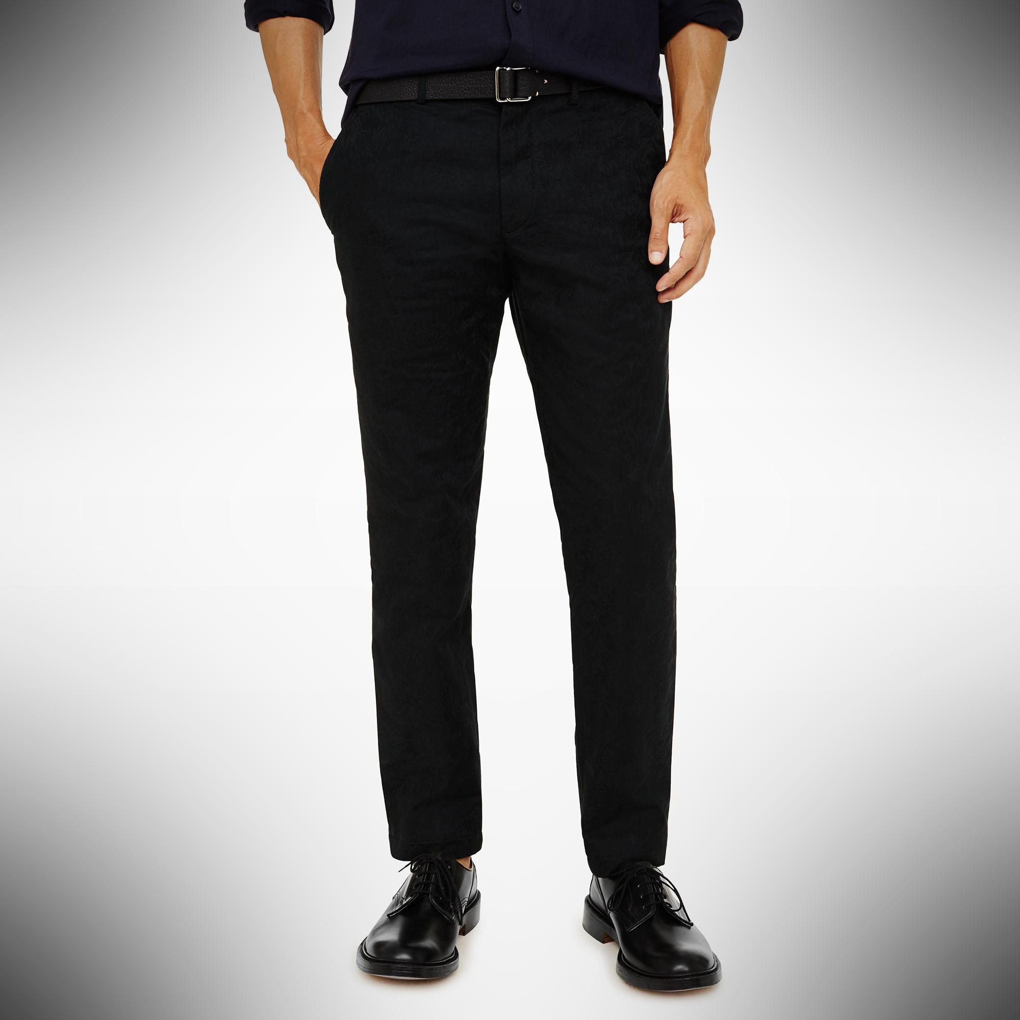 Club Monaco Connor Chino Floral Jacquard – summer dress pants for men