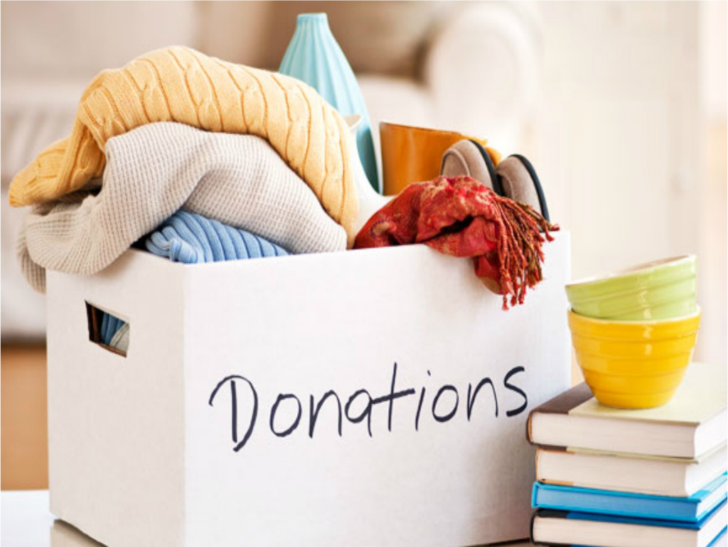 Donate Stuff You Don't Need – make your home green