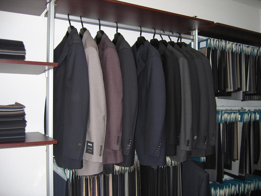Double Beasted Suit Wardrobe