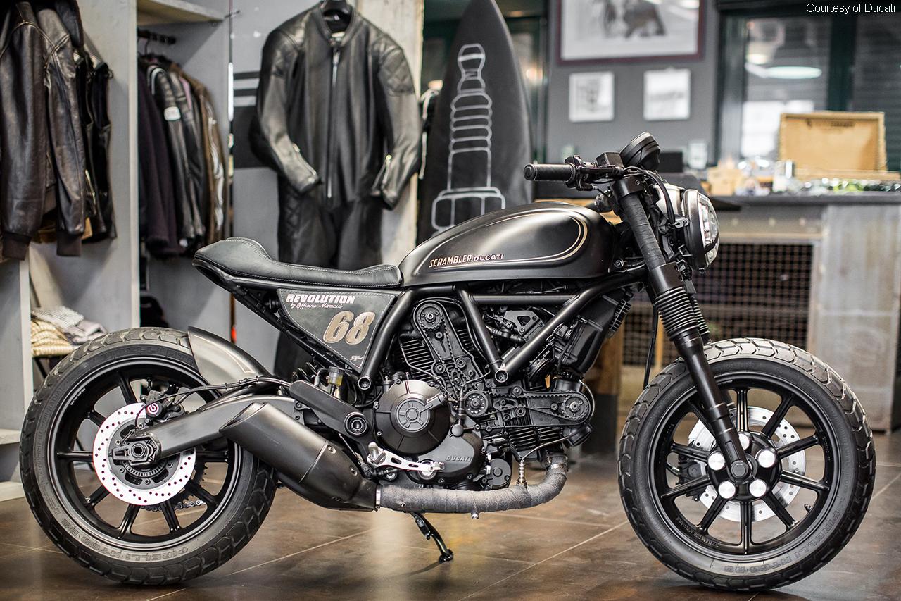 Ducati Scrambler Sixty2 – retro motorcycle