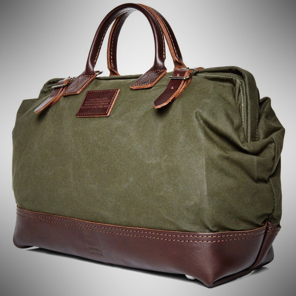 End Clothing Apolis Mason Courier Weekender Bag for Men