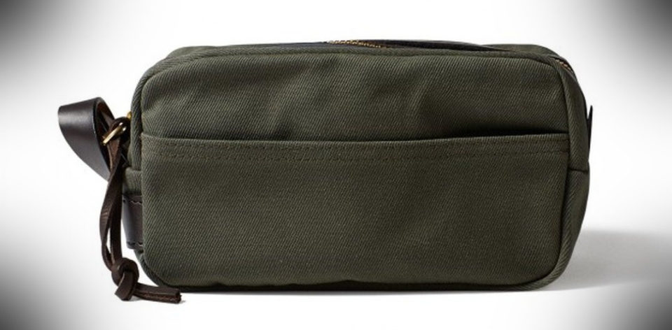 Filson Travel Kit dopp kit essentials 960x472 Dopp Kit Hero: What to Pack in a Shaving Bag