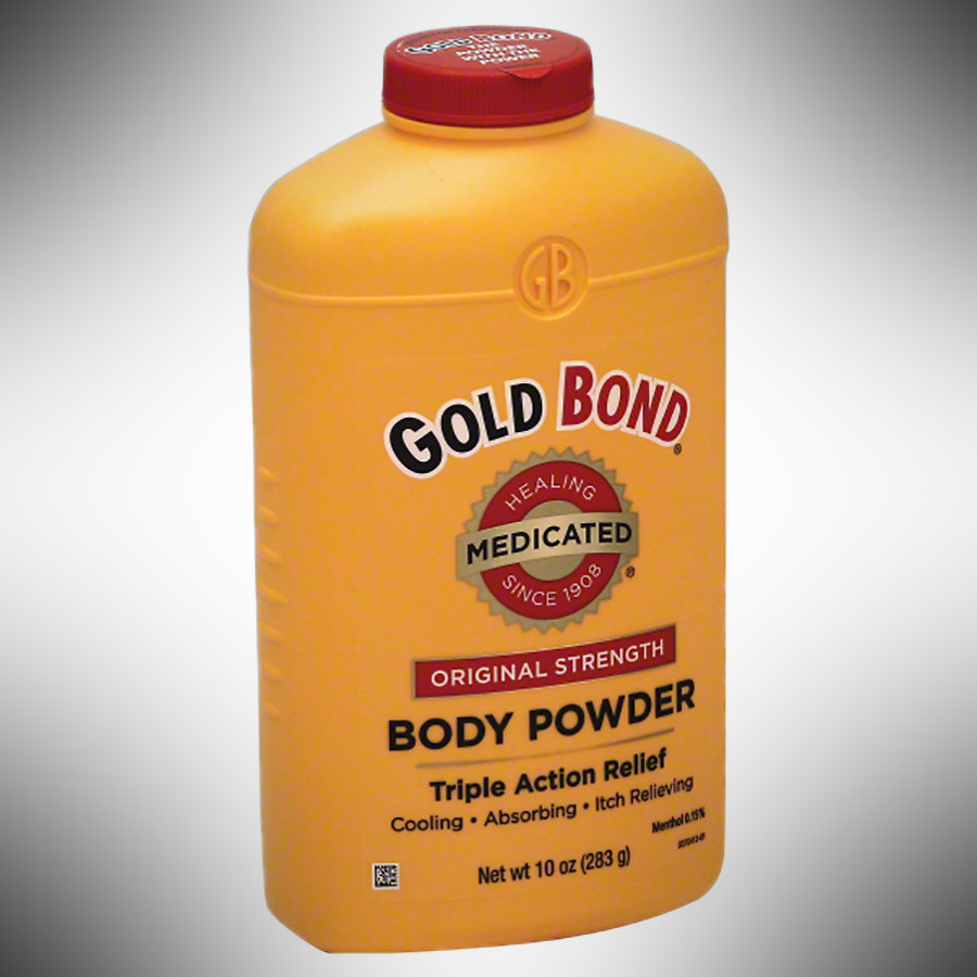 Gold Bond Medicated Powder - dopp kit essentials