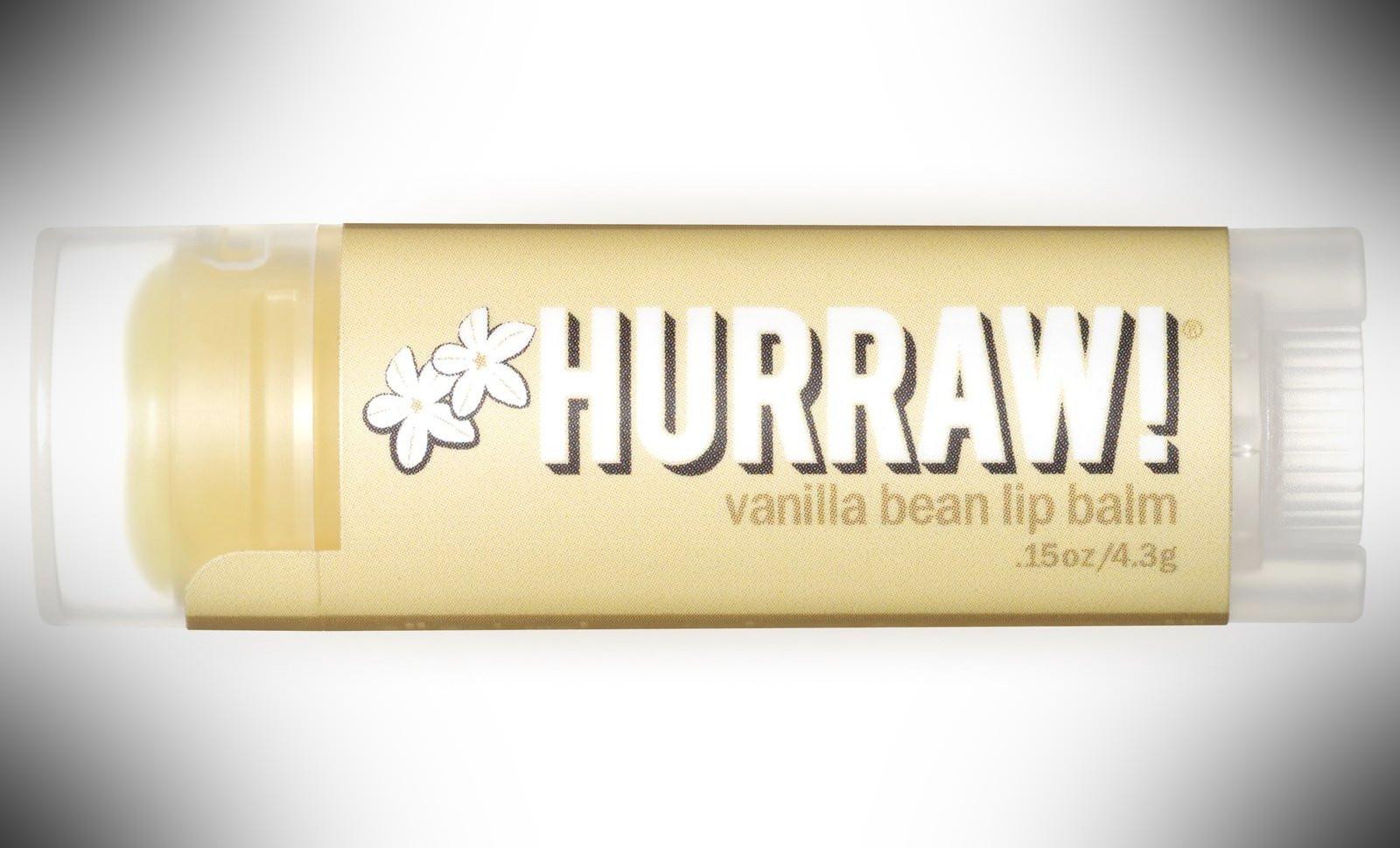 Hurraw Lip Balm – dopp kit essentials
