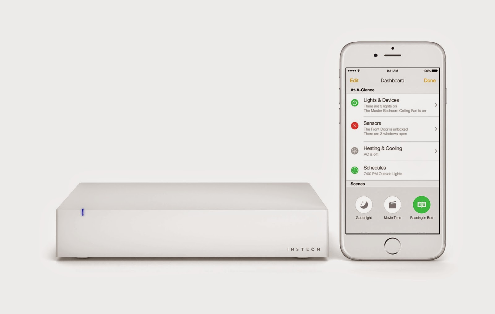 Insteon Hub Pro – iOS 10 smart device