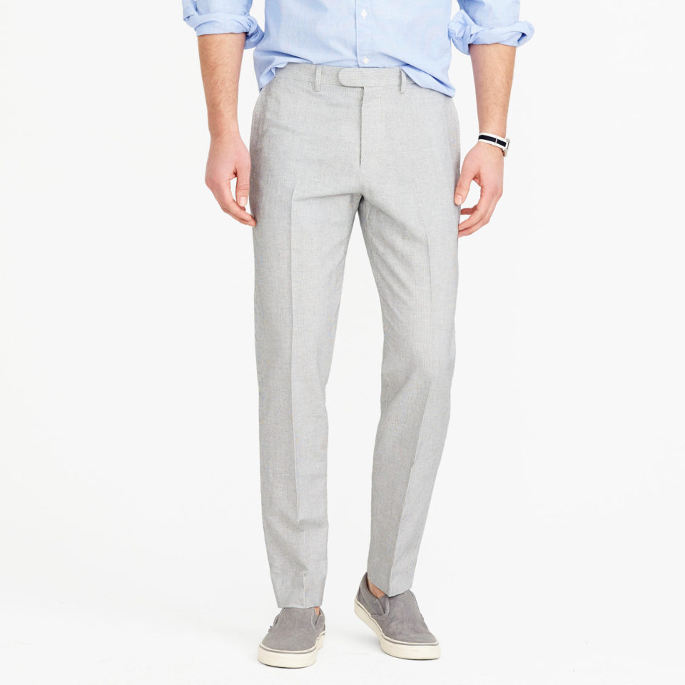 J. Crew Bowery Classic - summer dress pant for men