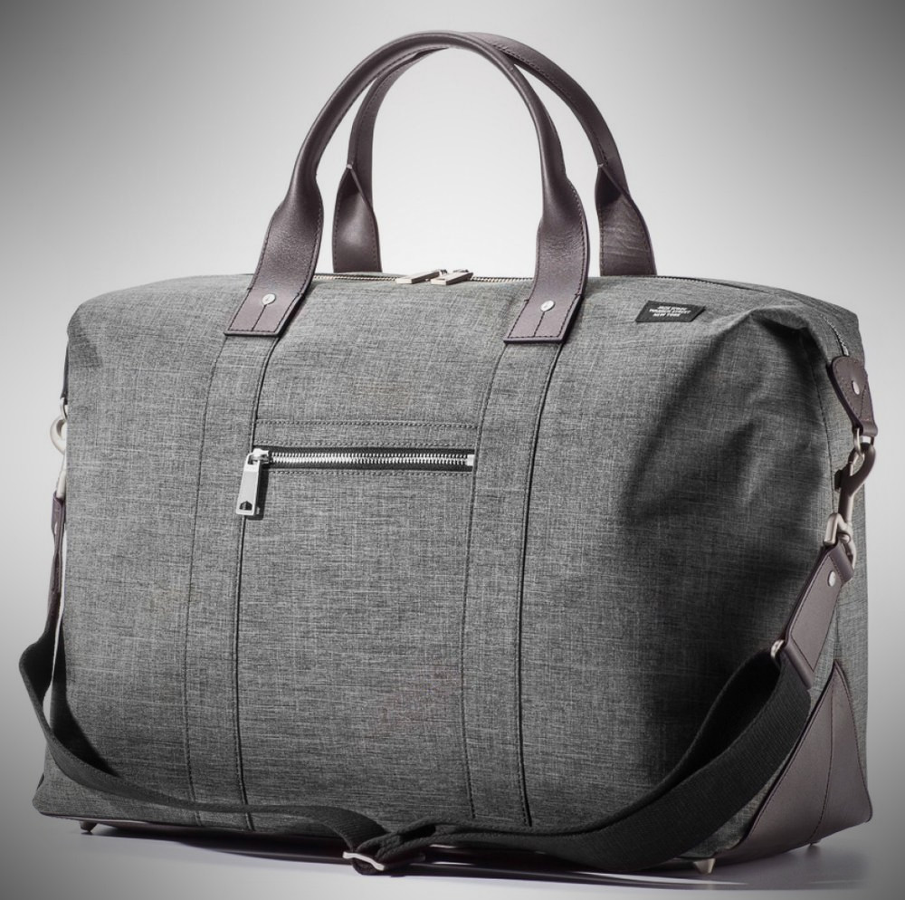 Jack Spade Tech Oxford Travel Duffle – weekender bag for men
