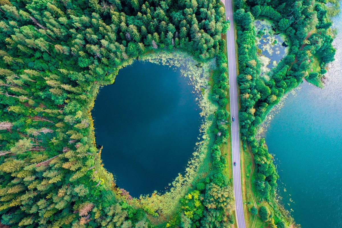 Marvel Lithuania Lakes – drone photo