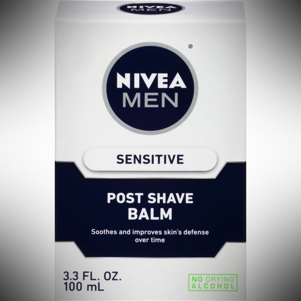 Nivea Men Sensitive Post Shave Balm - dopp kit essentials