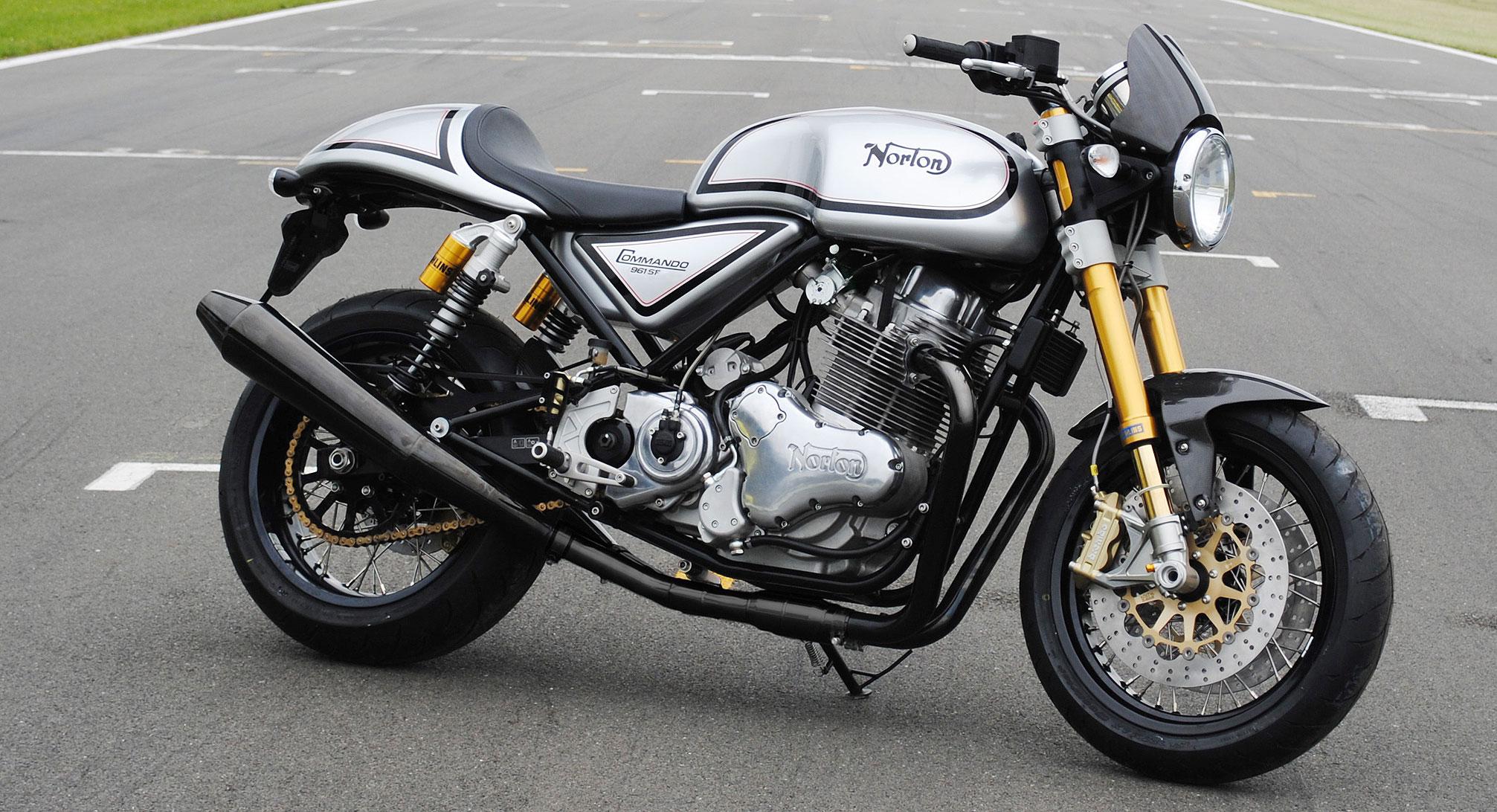 Norton Commando 961 – retro motorcyle