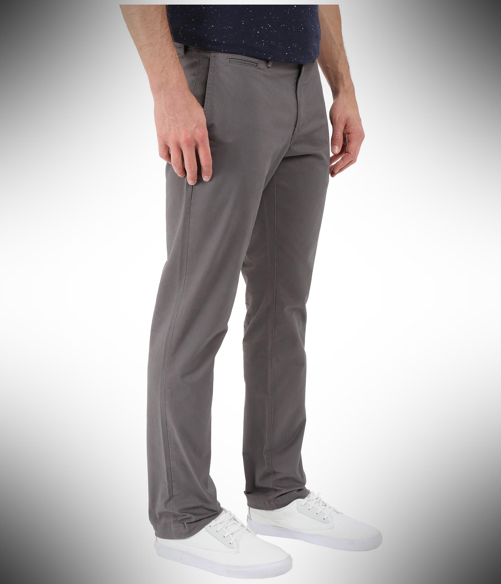 Original Penguin Men's P55 Straight Fit Chino Summer Pants for Men