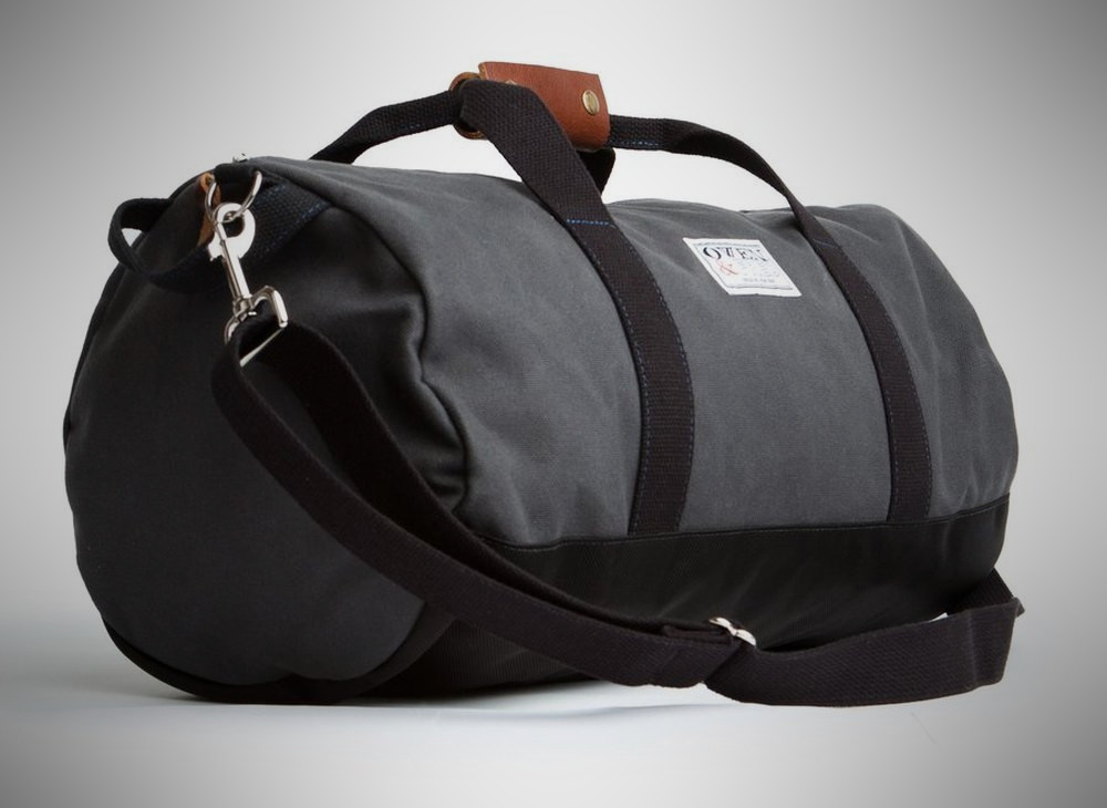 Owen & Fred Work Hard, Play Hard Duffel – weekender bag for men