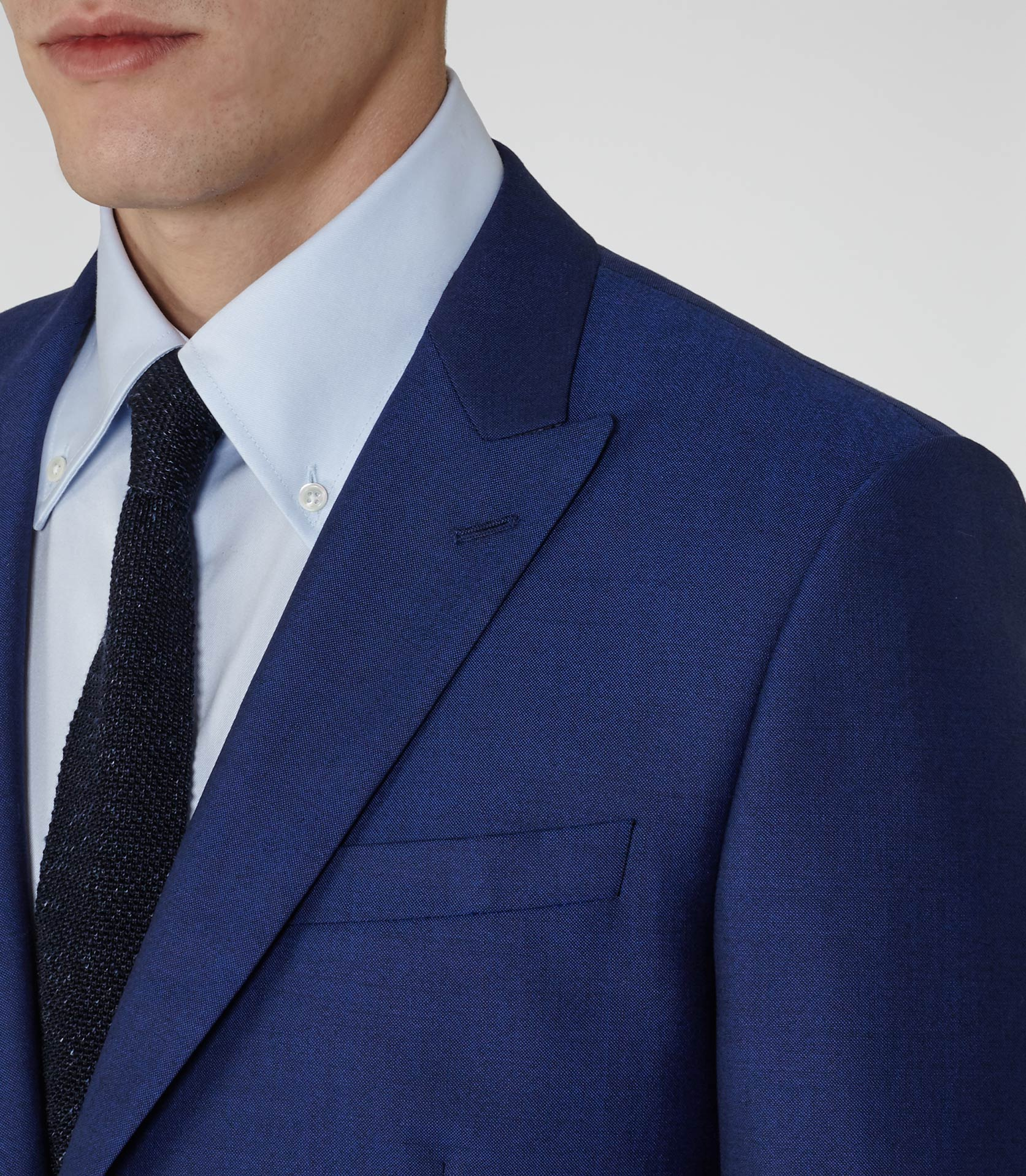 Peak Lapel – double breasted suit