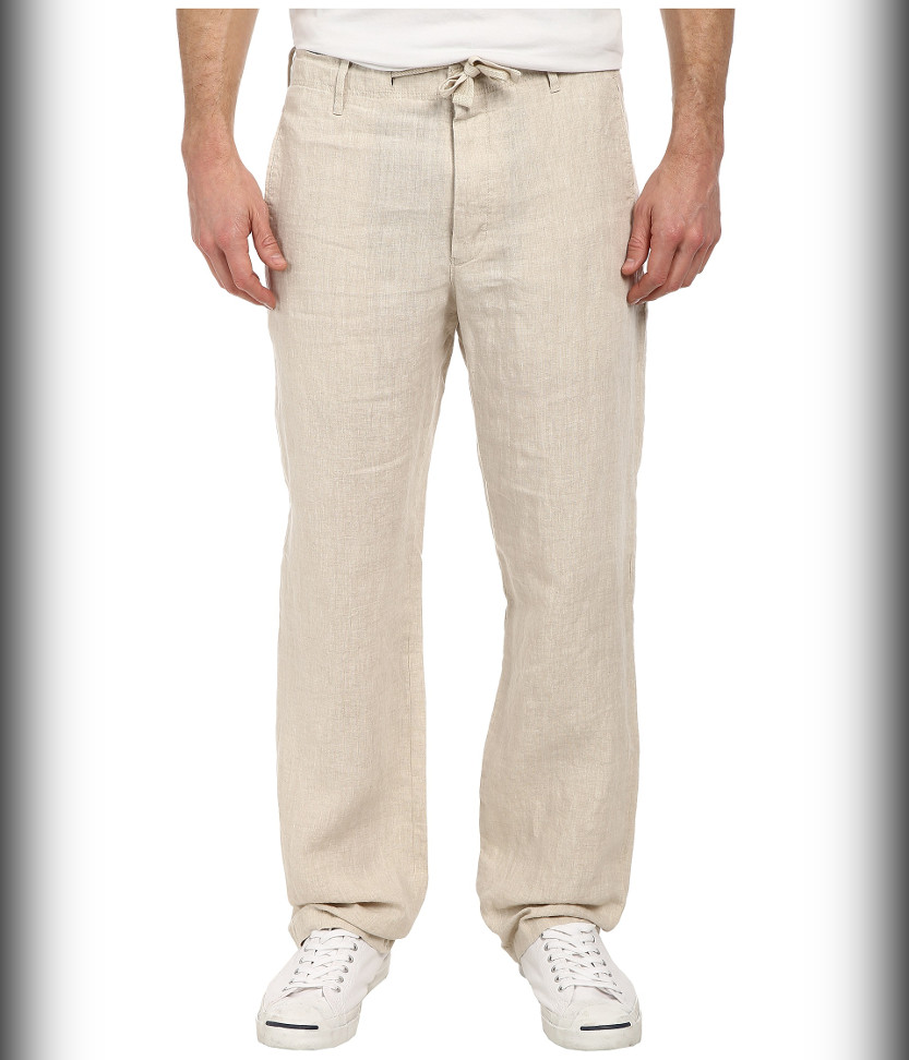 45a62592a73d View in gallery Perry Ellis Drawstring - summer pants for men beach