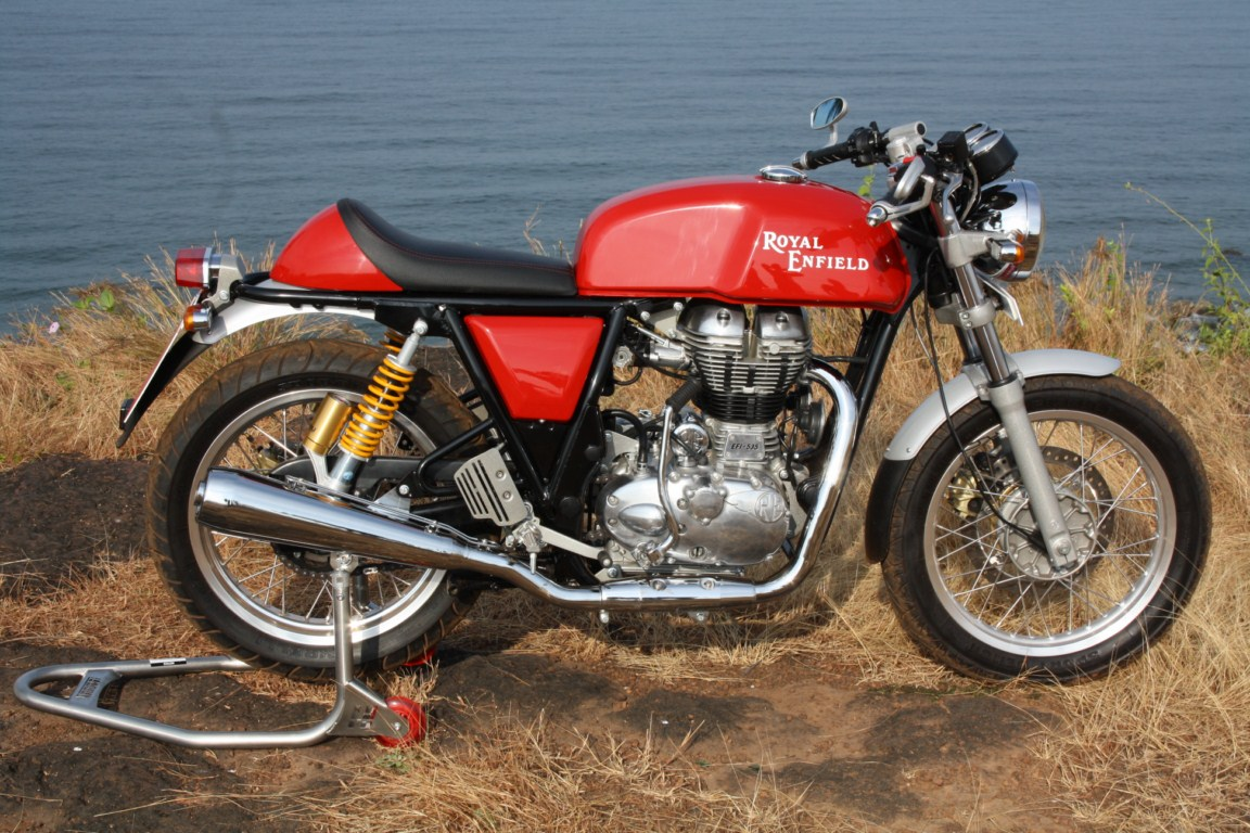 Royal Enfield Continental GT – retro motorcycle