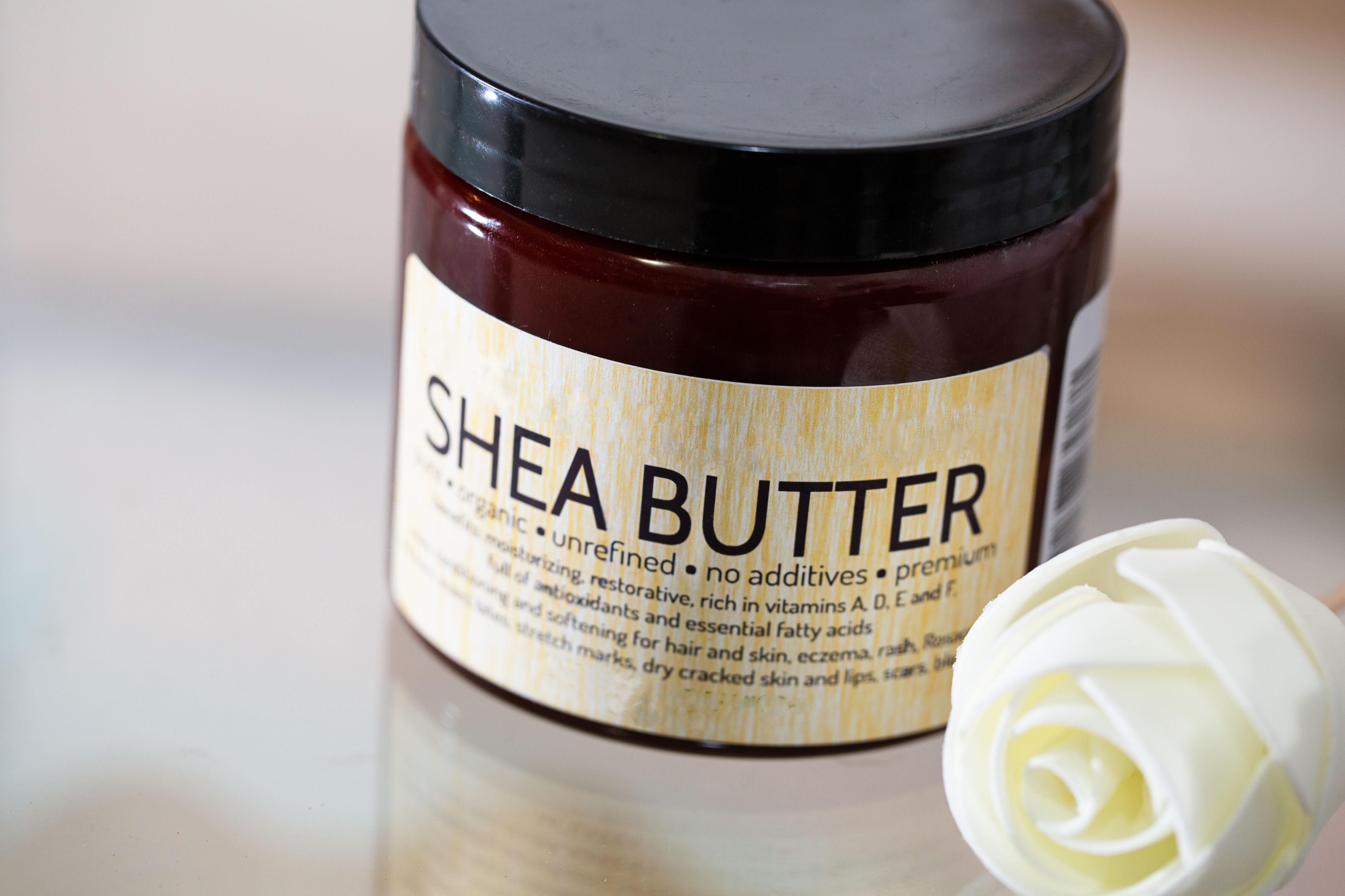 Shea Butter – protect your hair while swimming