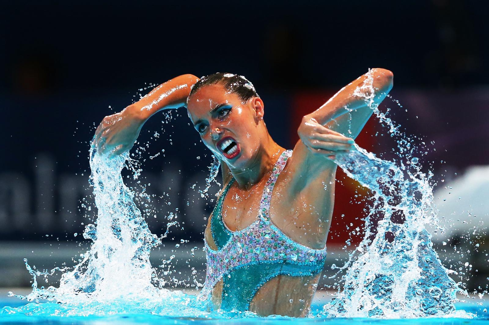 Solo Synchronized Swimming – strange olympic sport