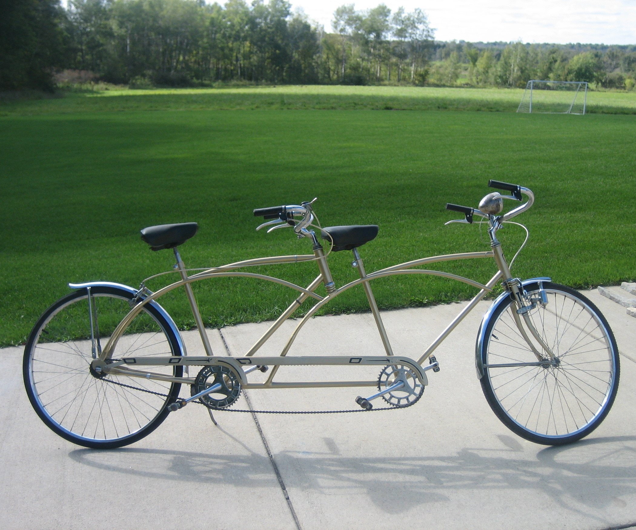 Tandem – types of bicycle