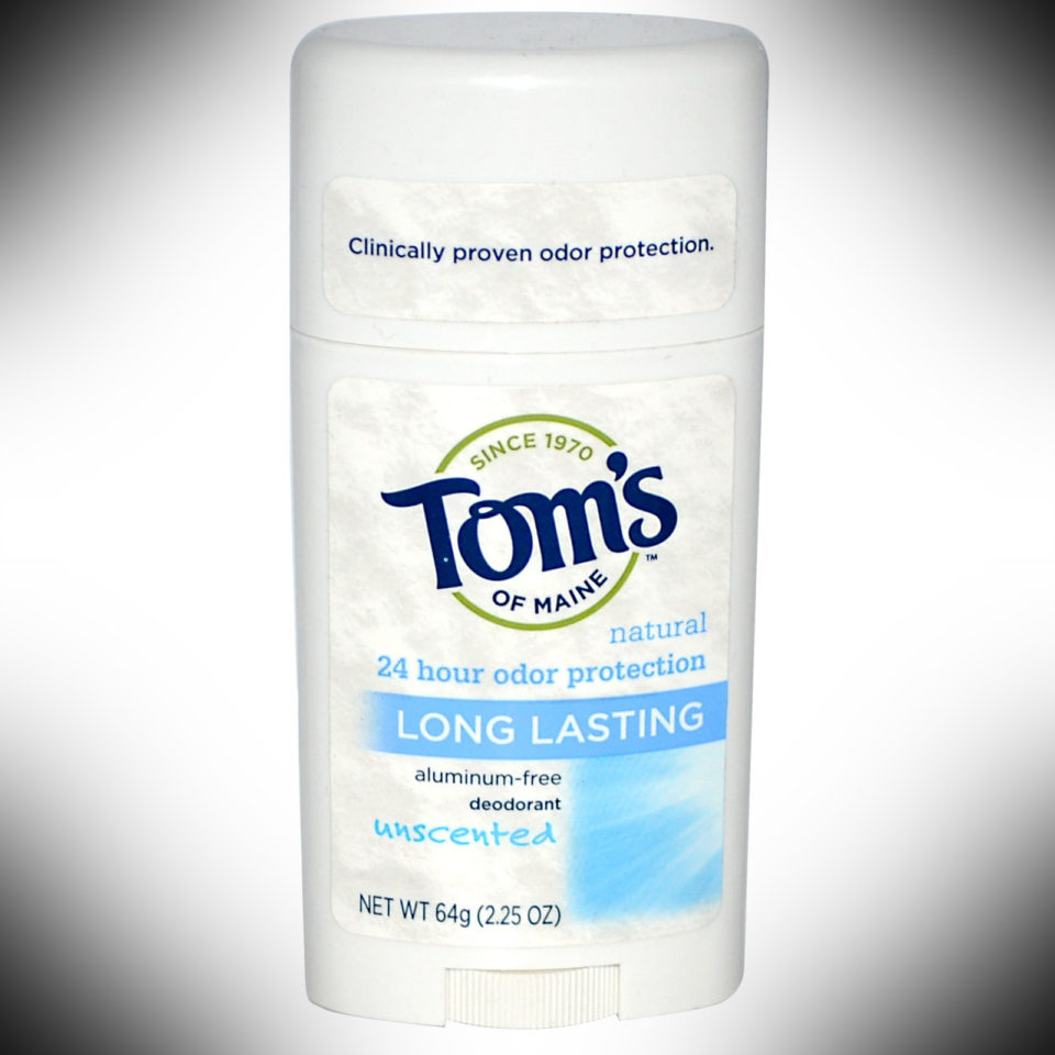 Toms of Maine Deodorant - dopp kit essentials
