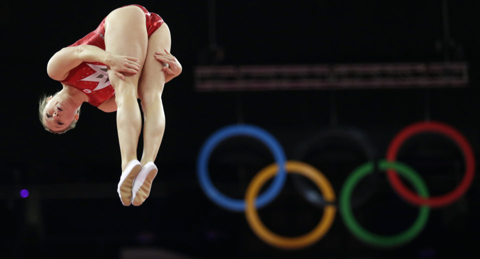 Trampolining strange olympic sport 960x518 17 Strange Sports That Were Actually In The Olympics